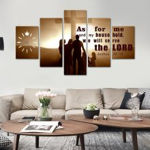 As For Me And My Family HD print canvas art work