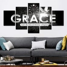 AMAZING GRACE HD CANVAS FRAME