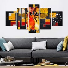 5 HD CANVAS WALL FRAME