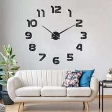 2020 WELL FINISHED 3D WALL DECOR CLOCK WITH ACRYLIC DESIGN