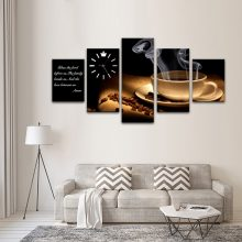 TEA CUP CANVAS WALL FRAME